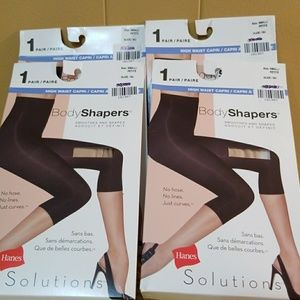 4 pairs of body shapers nude